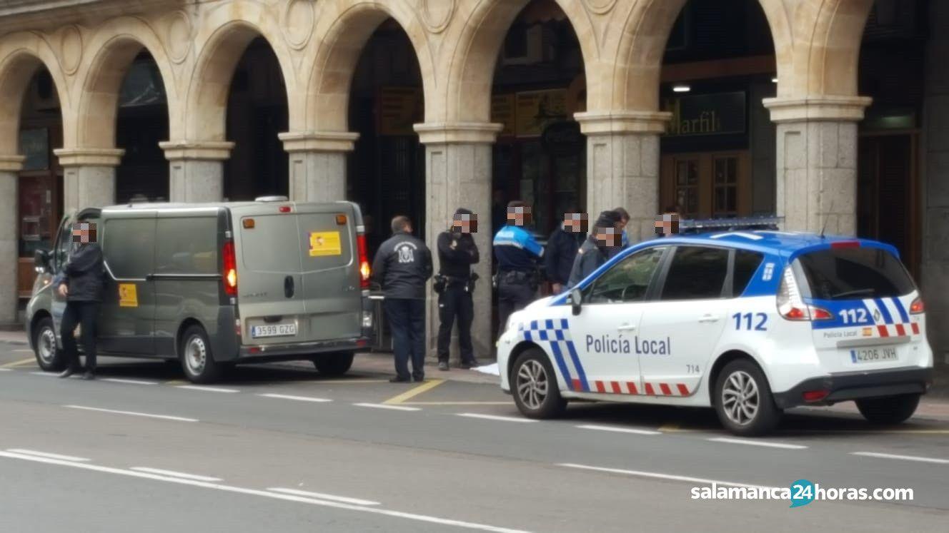 Policía Local en Gran Vía