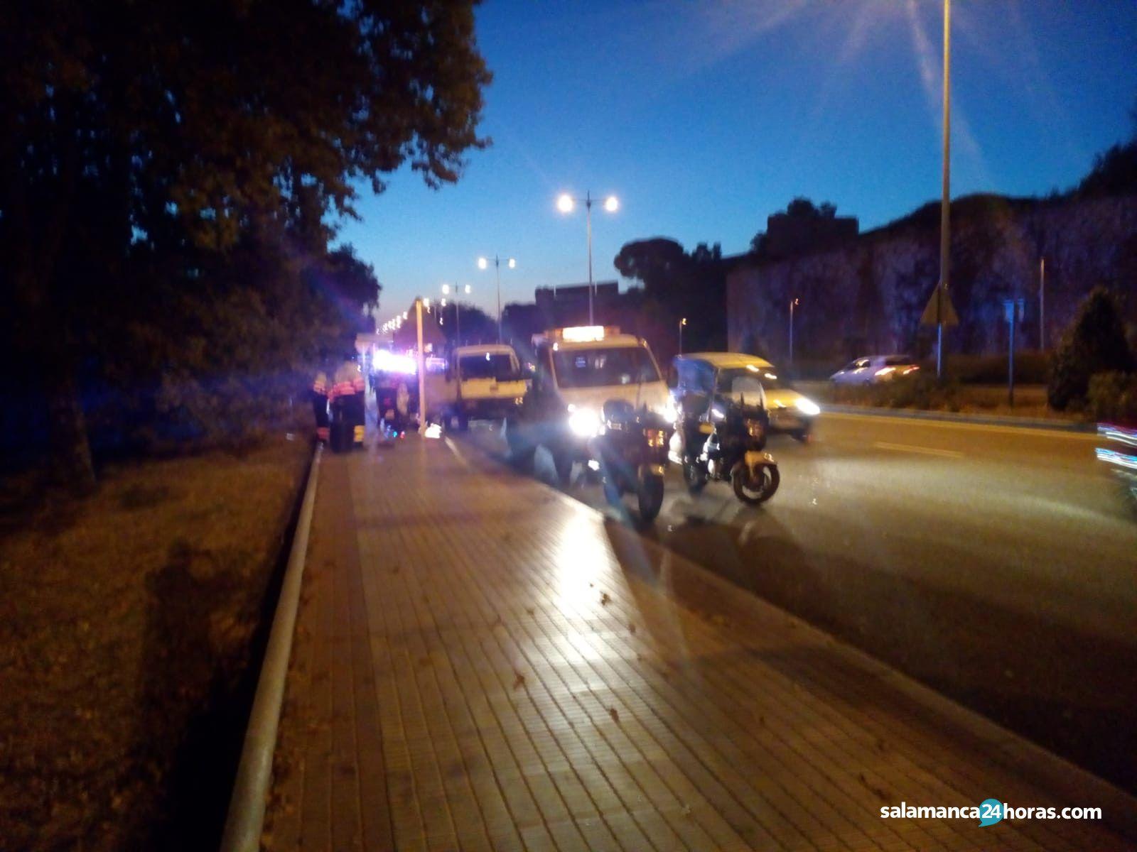 Accidente carretera de Madrid (1)