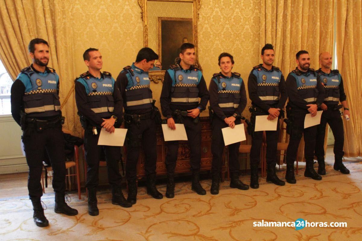 Recepción de los policías participantes en los Juegos Europeos (29)
