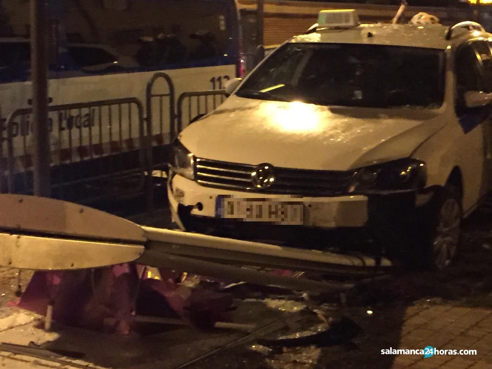 Accidente taxi avenida Maristas (6)