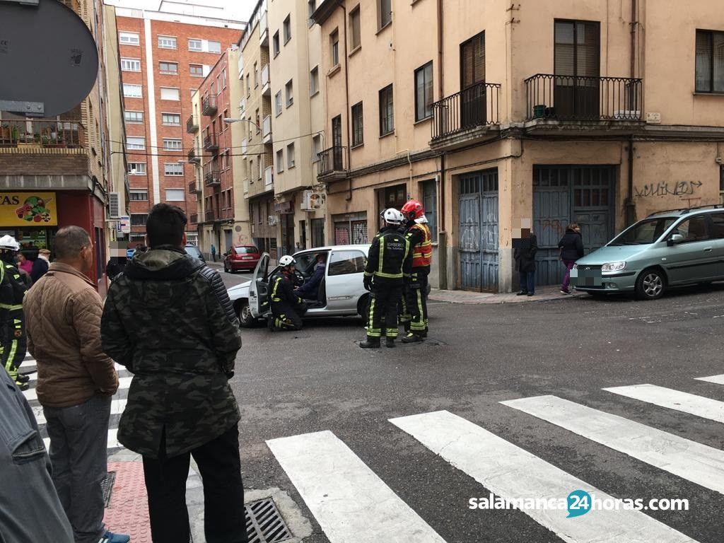 Accidente calle Velázquez (1)