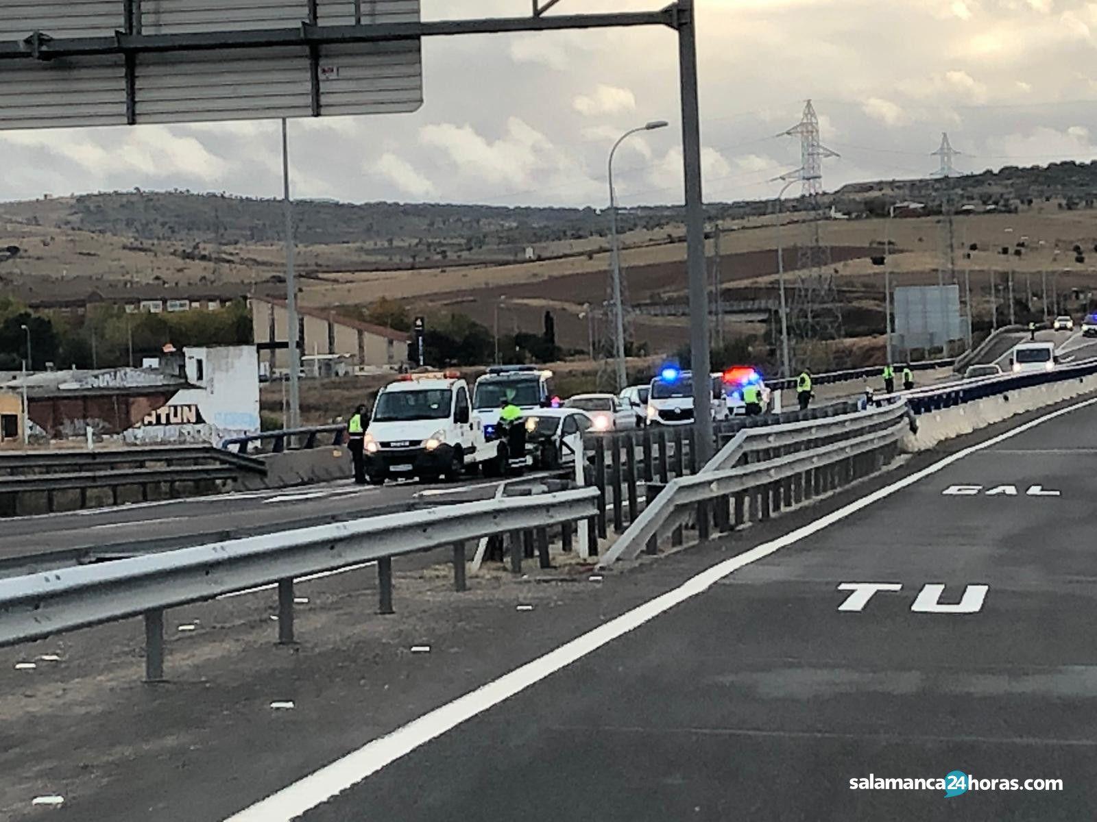 Accidente salida de vía A 62 (7)
