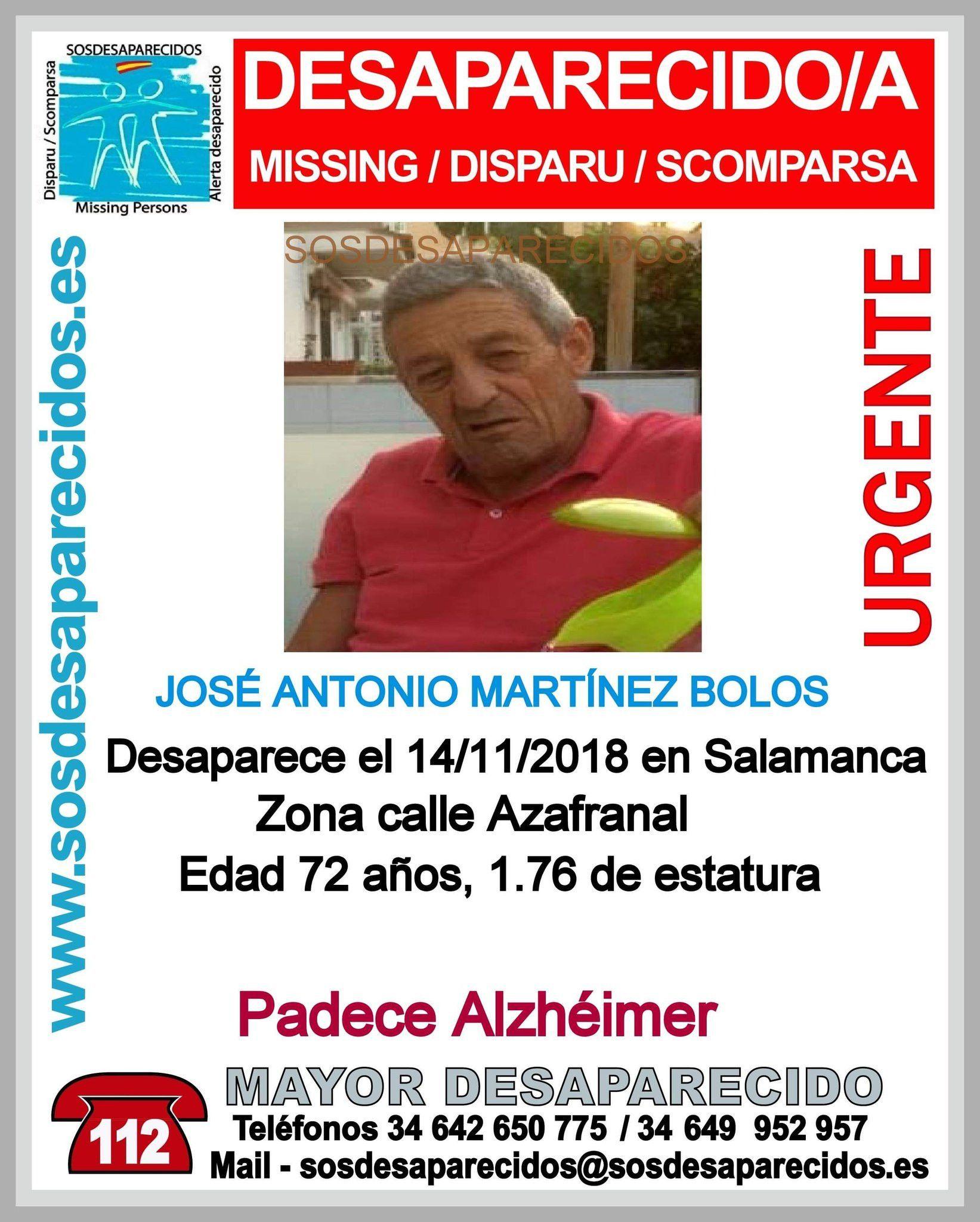 Desaparecido Azafranal