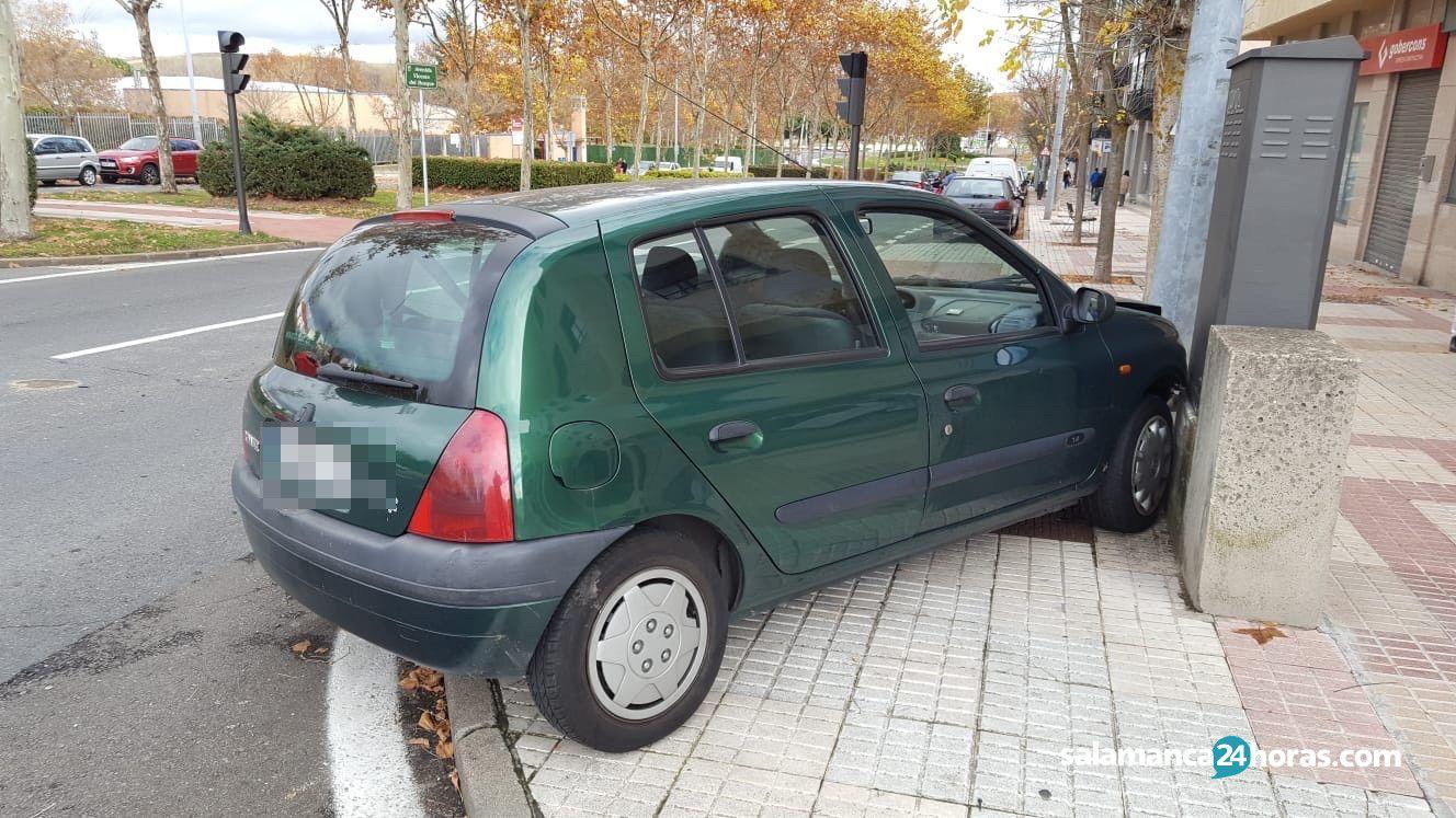 Accidente avenida Vicente del Bosque 1