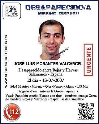 Morante Bu00e9jar Desaparecido