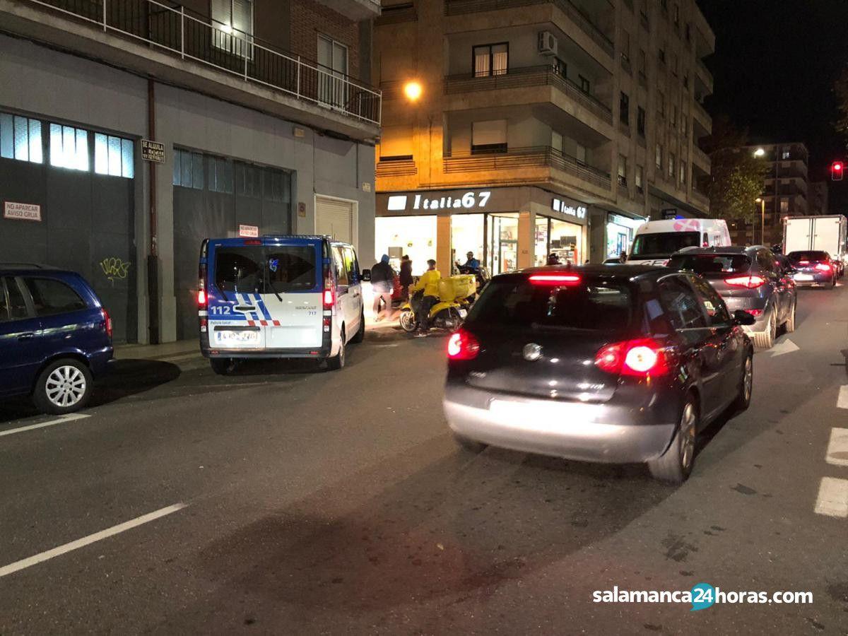 Accidente avenida de italia (2)
