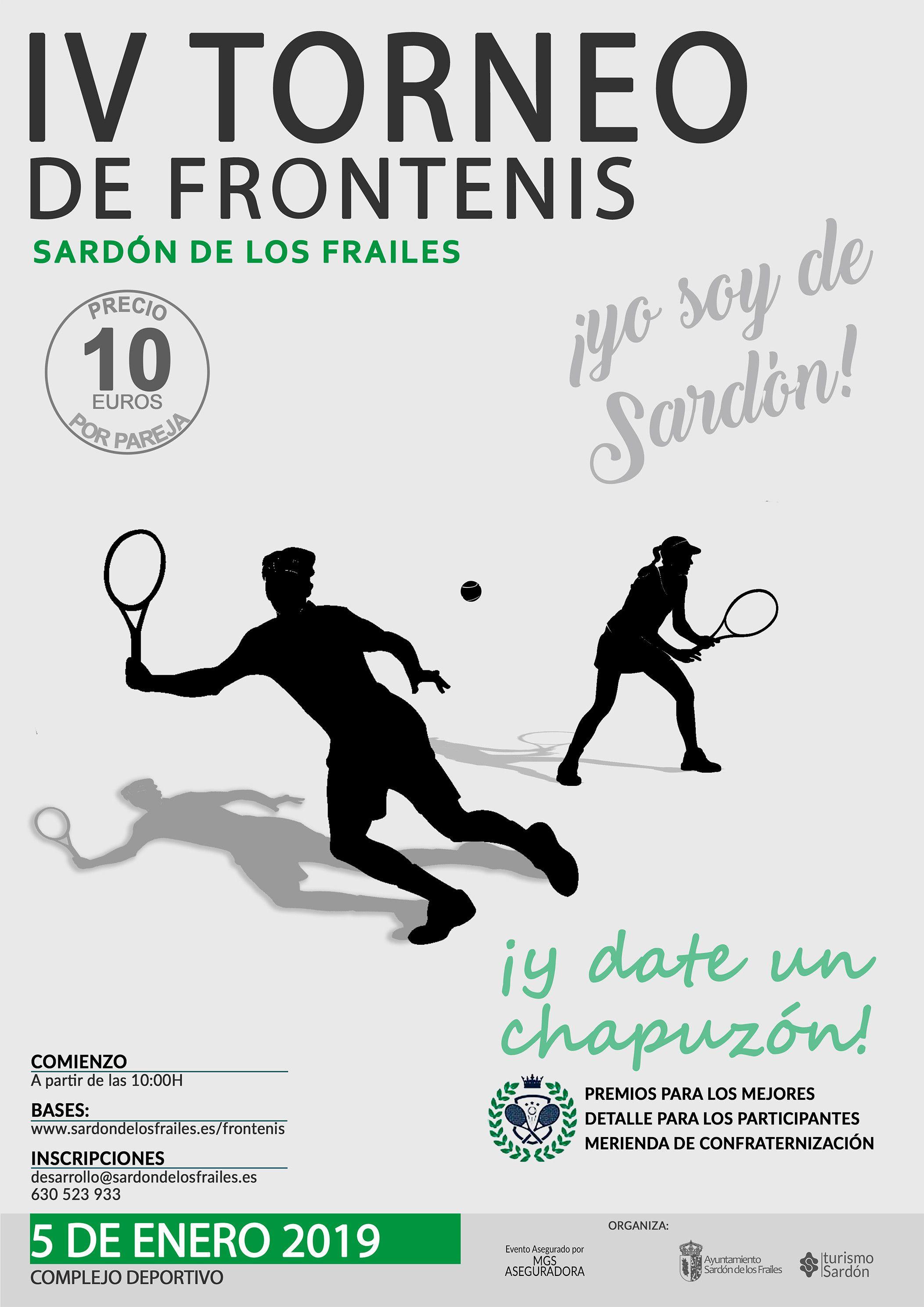 CARTEL DE FRONTENIS