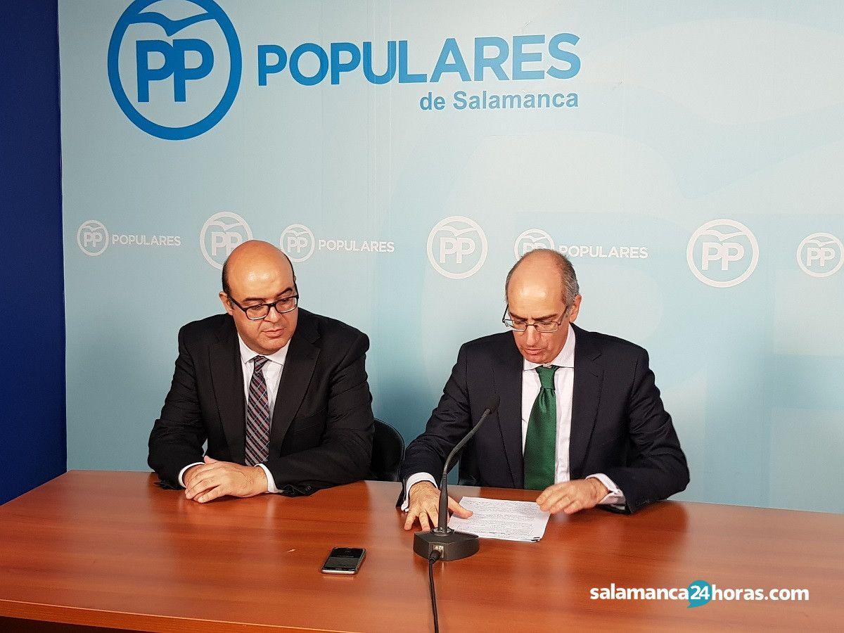 Carlos García Sierra y Javier Iglesias