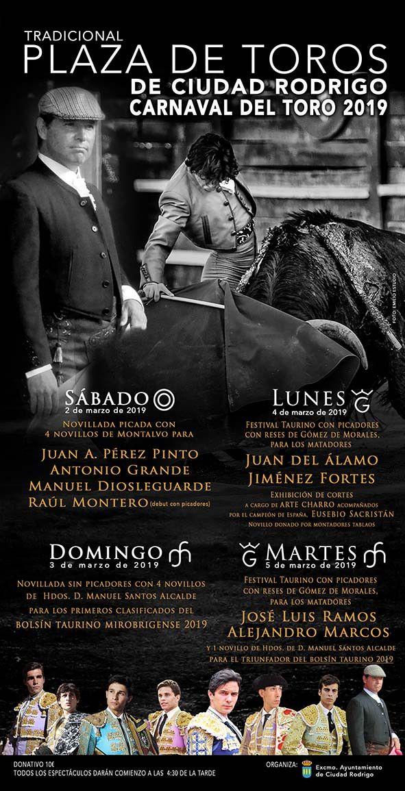 Cartel toros Ciudad Rodrigo