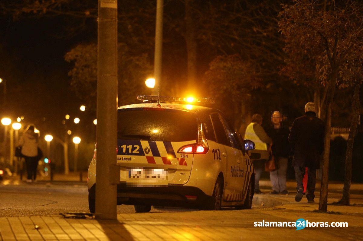 Accidente avenida de Salamanca