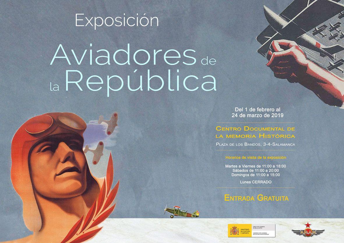 Exposiciu00f3n aviadores de la repu00fablica