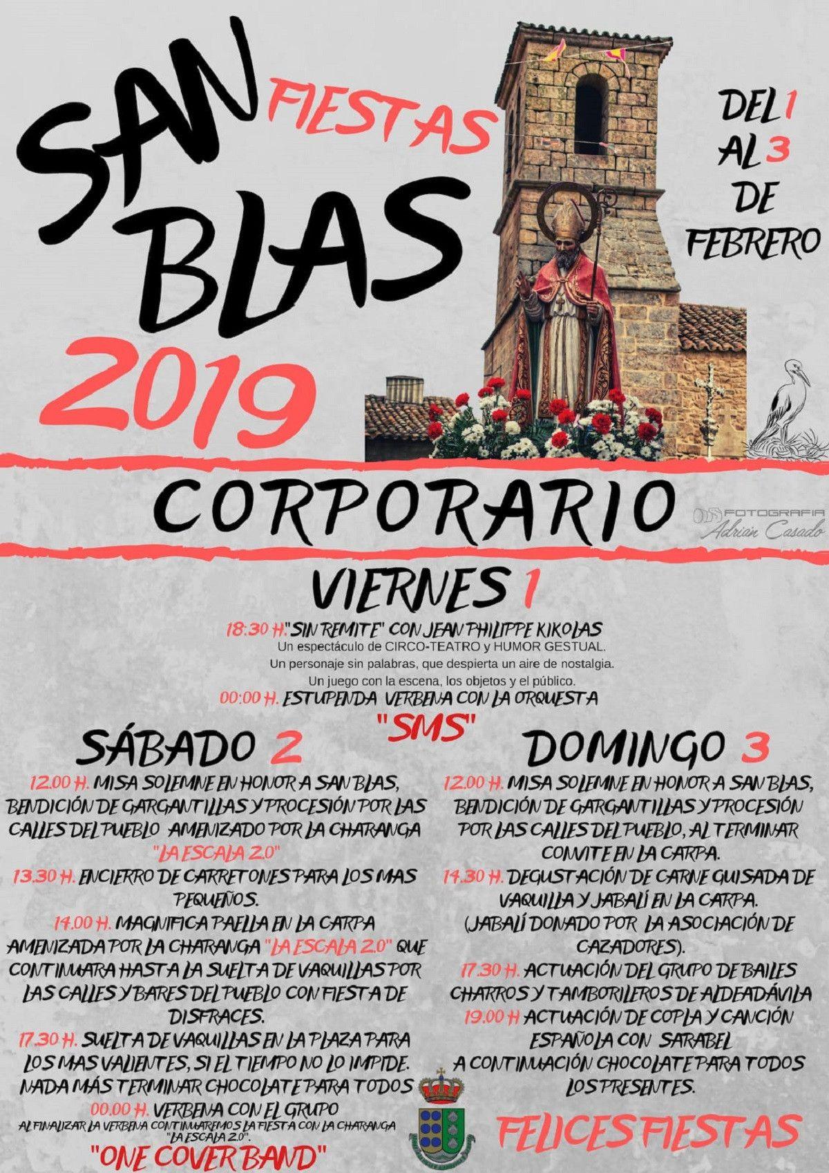 Corporario Fiestas San Blas