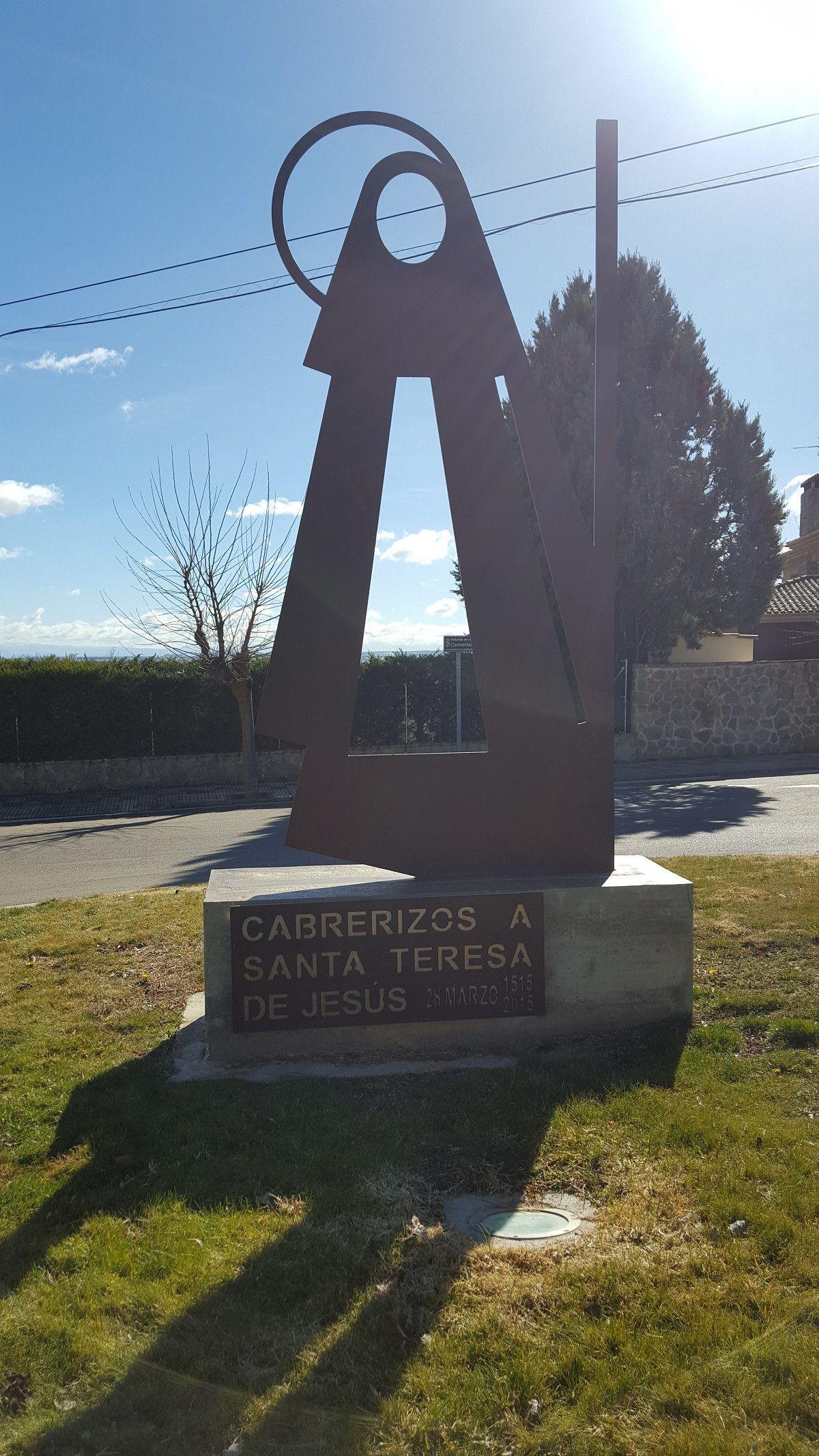 Cabrerizos escultura Santa Teresa