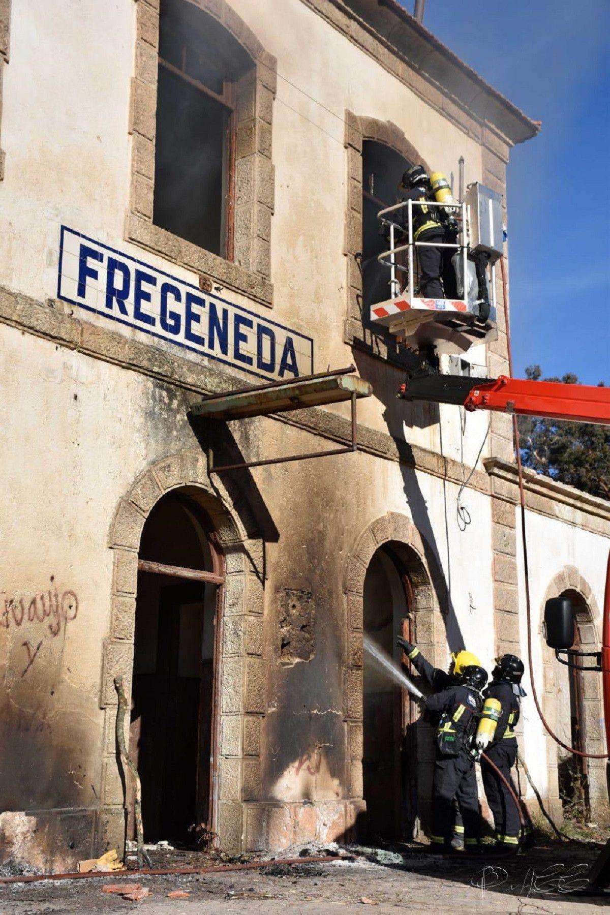 Incendio en Fregeneda 2