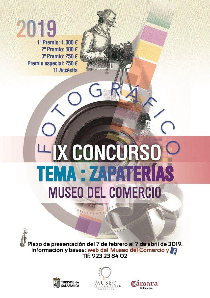 Cartel concurso fotografia Museo Comercio
