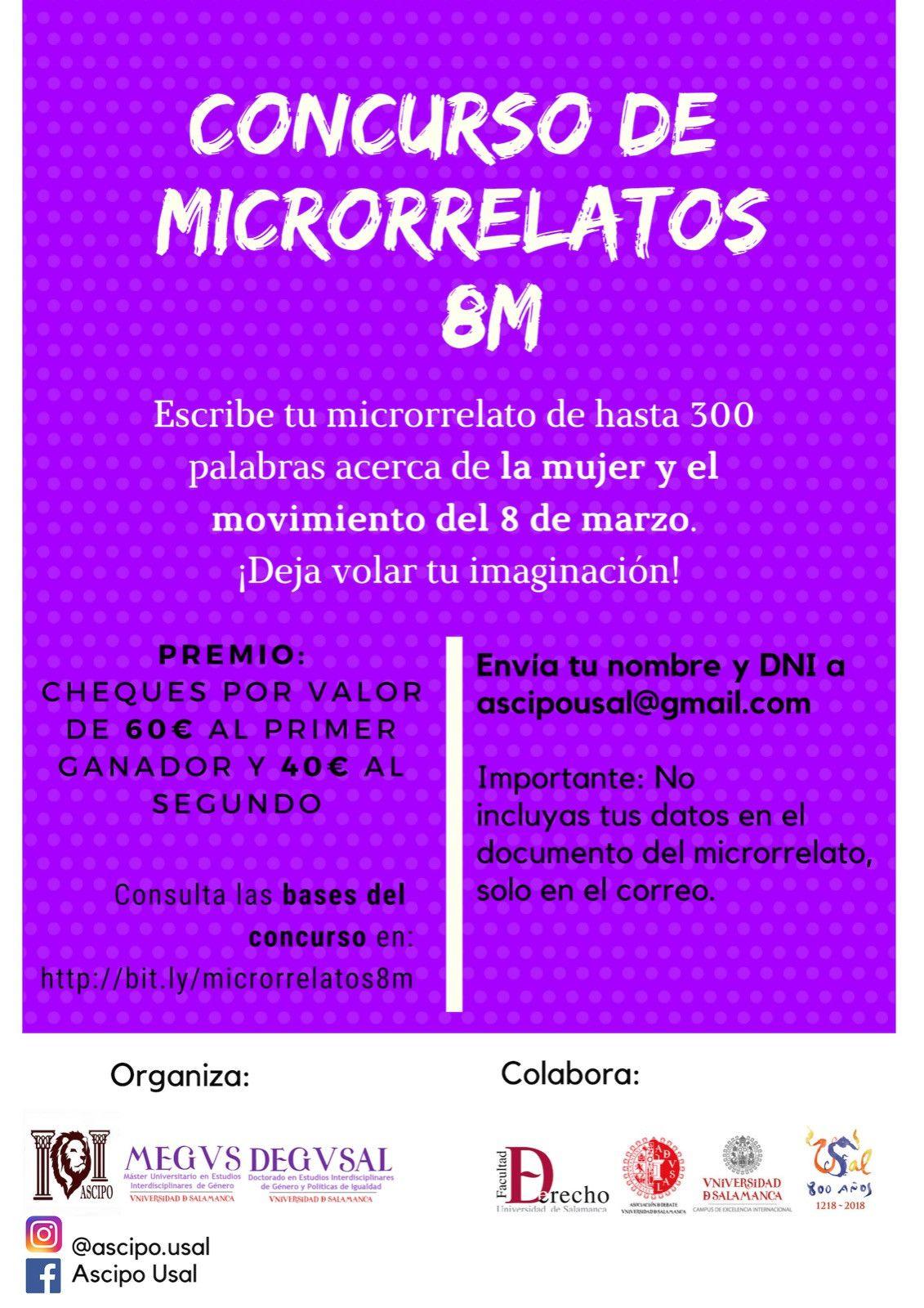 Concurso microrelatos 8M