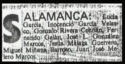 Lista Salamanca
