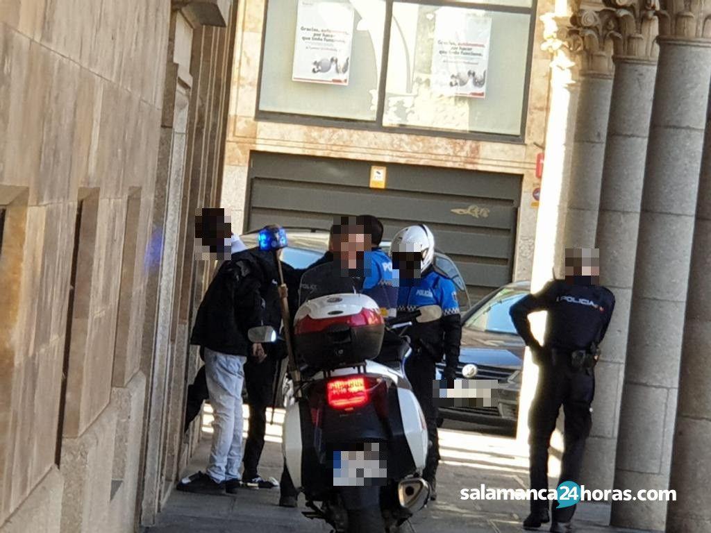 Detención Policía Nacional Policía Local (2)