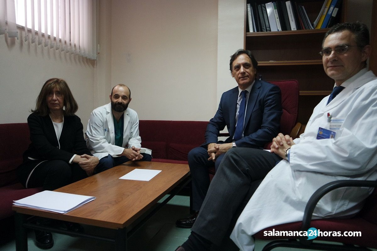 Reunión alcalde Servicio de Psiquiatría