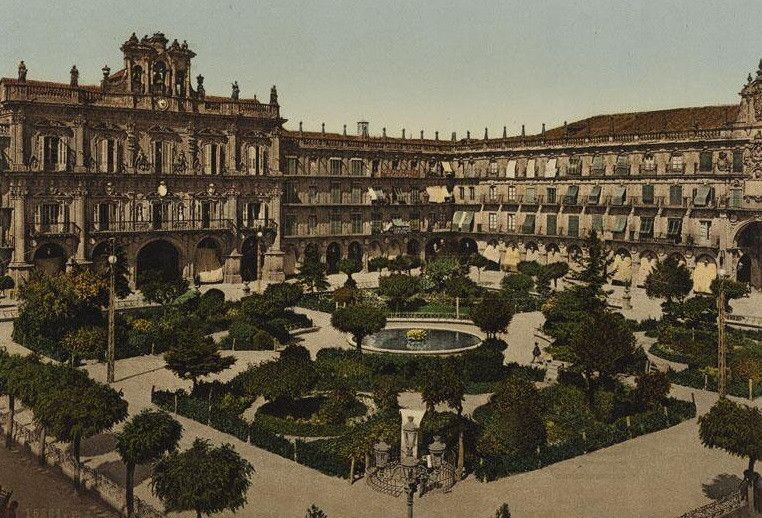 Plaza jardines