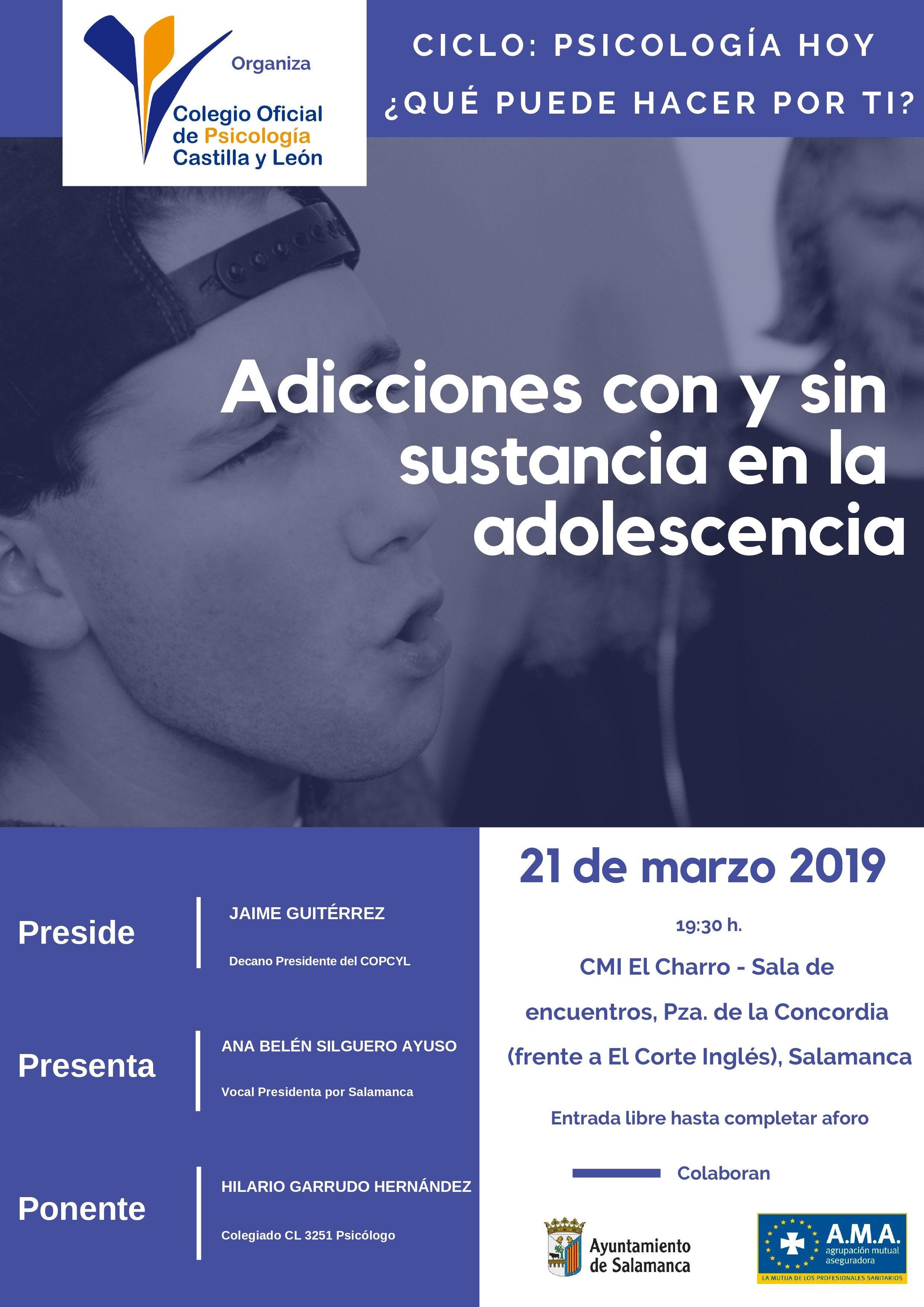 Psicologia Hoy Salamanca 21 marzo