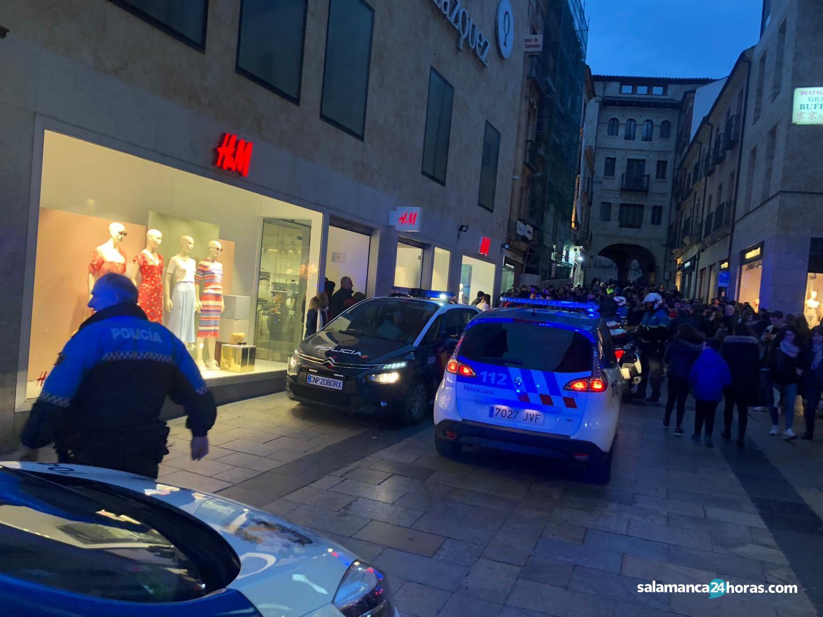 Detención en plena calle Toro (7)