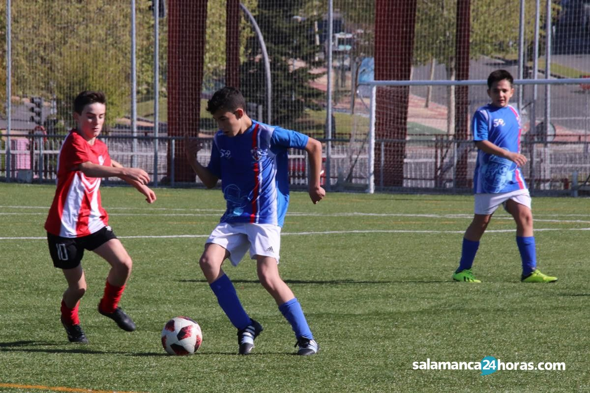 FÚTBOL BASE: INFANTIL 27-28 ABRIL