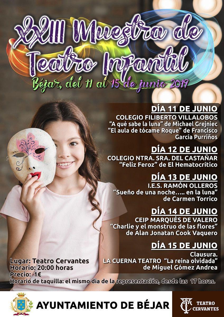 CARTEL MUESTRA TEATRO INTANTIL 2019
