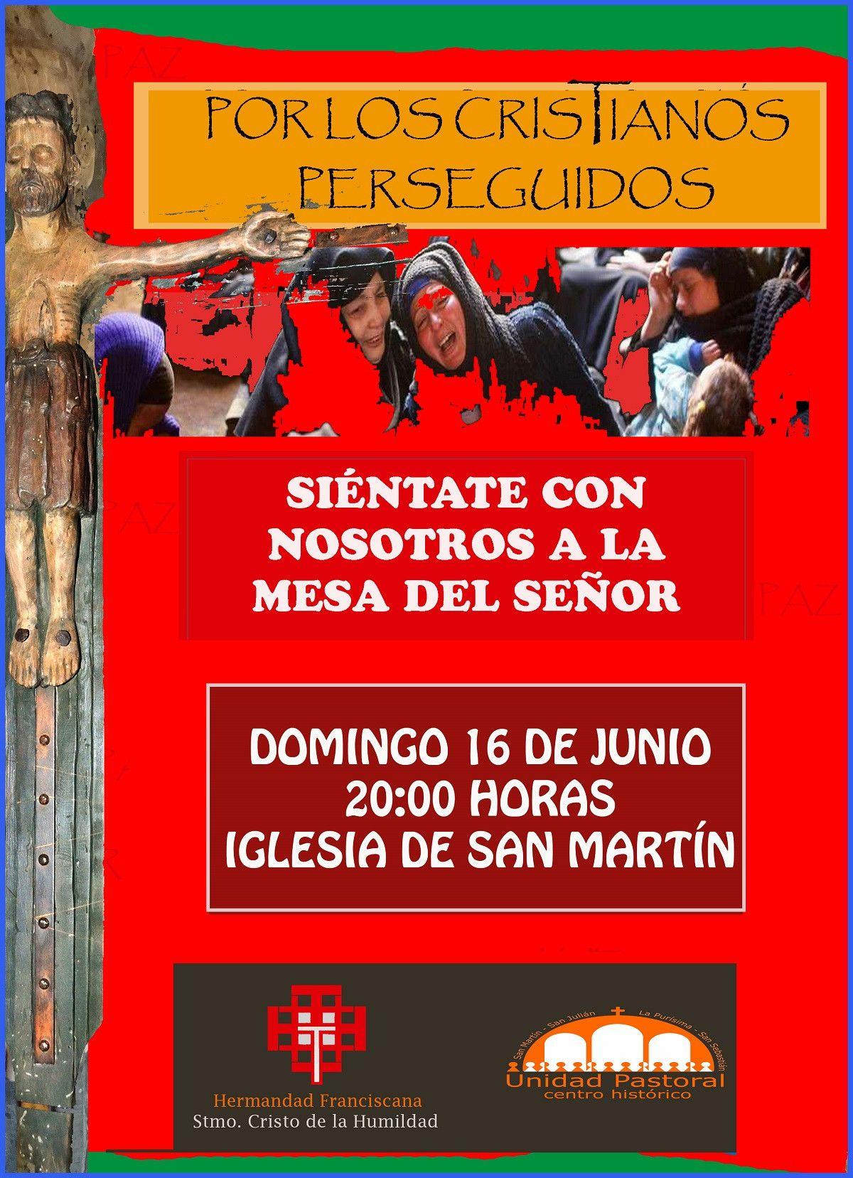 CONTRA  LA PERSECUCIu00d3N CRISTIANA san martu00ednjpg