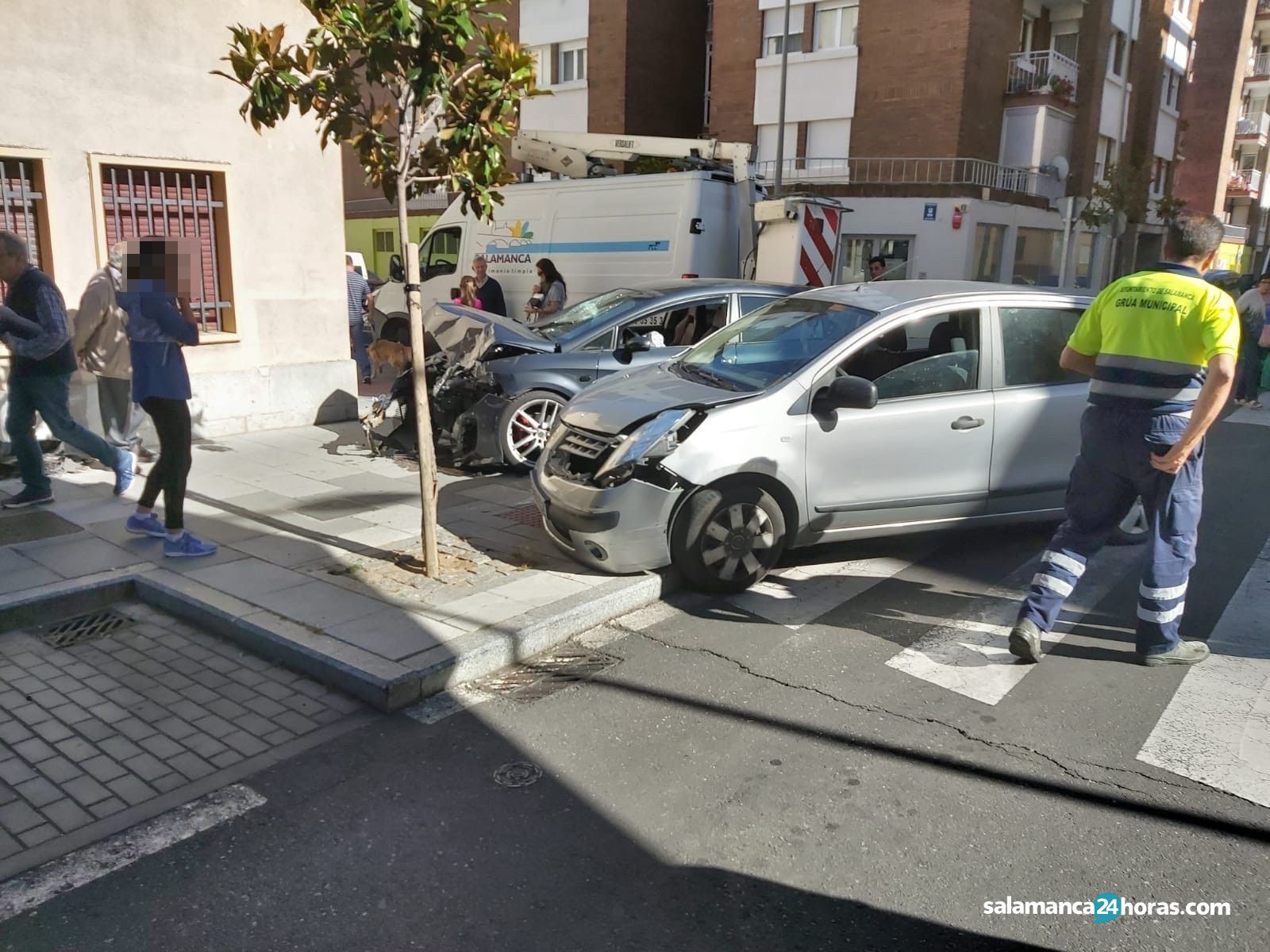 Accidente calle Agricultura y calle Bolivar 4