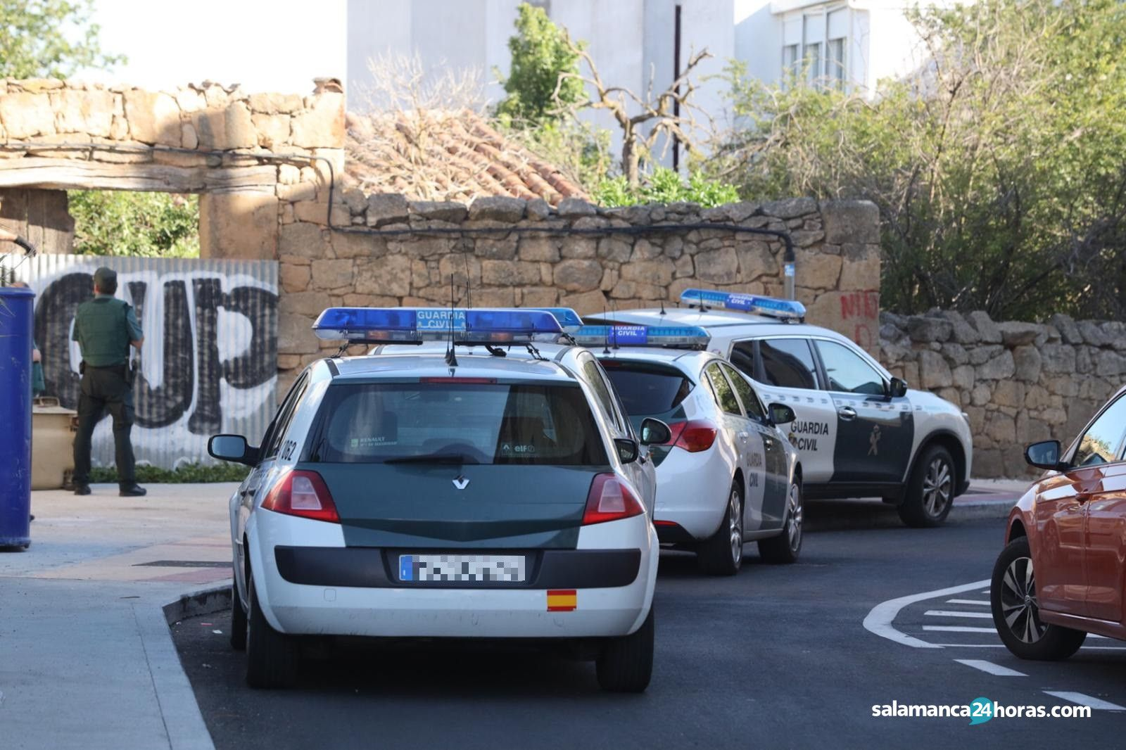 Guardia Civil en Villamayor