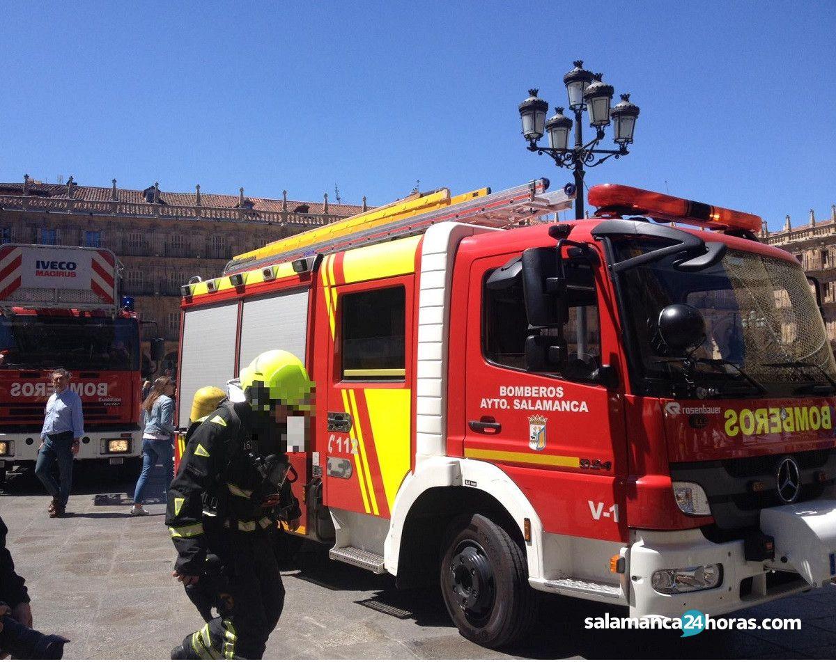 Falsa alarma bomberos