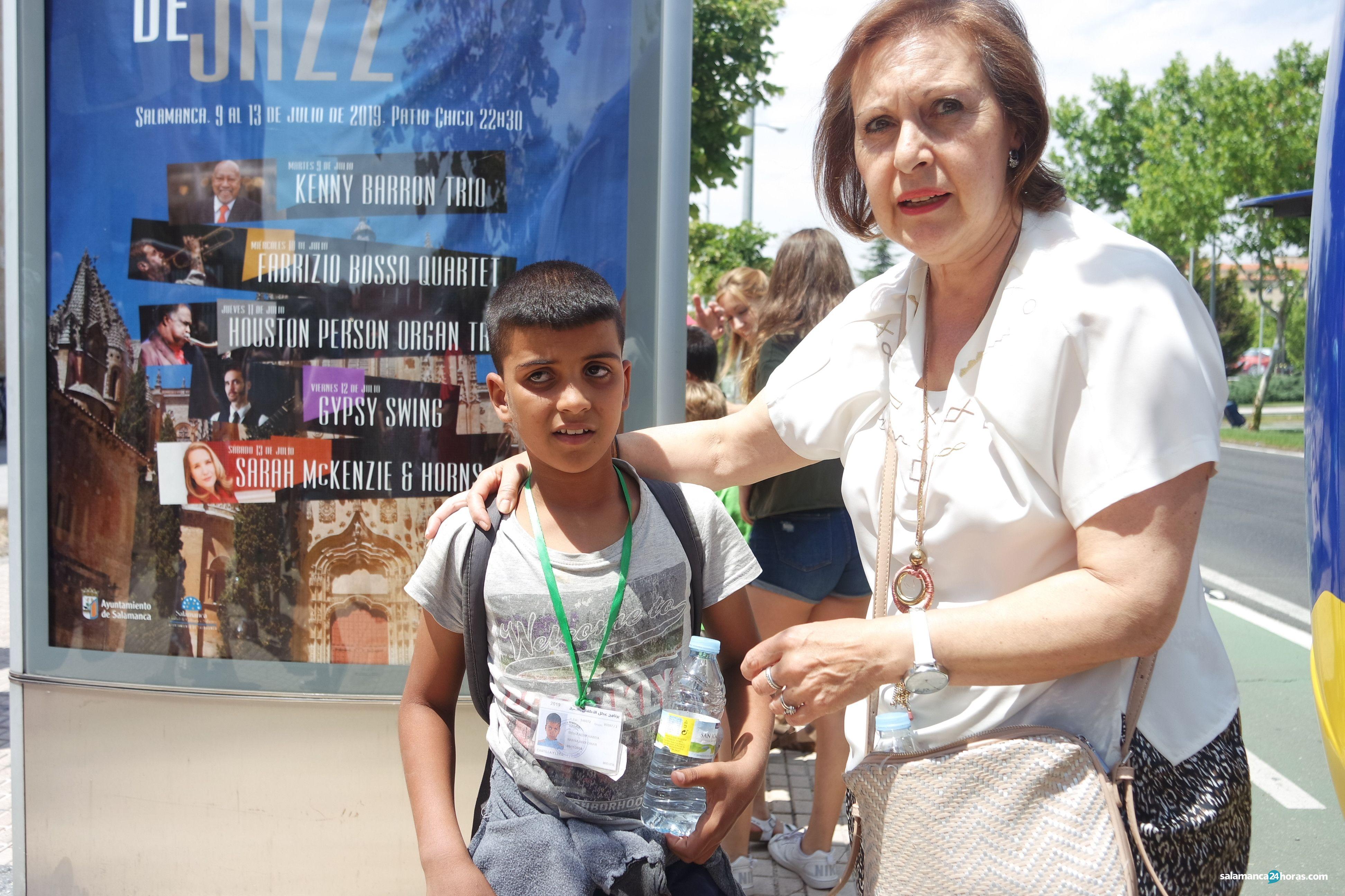 Llegada niños saharauis 'Vacaciones en Paz' 2019 (97)