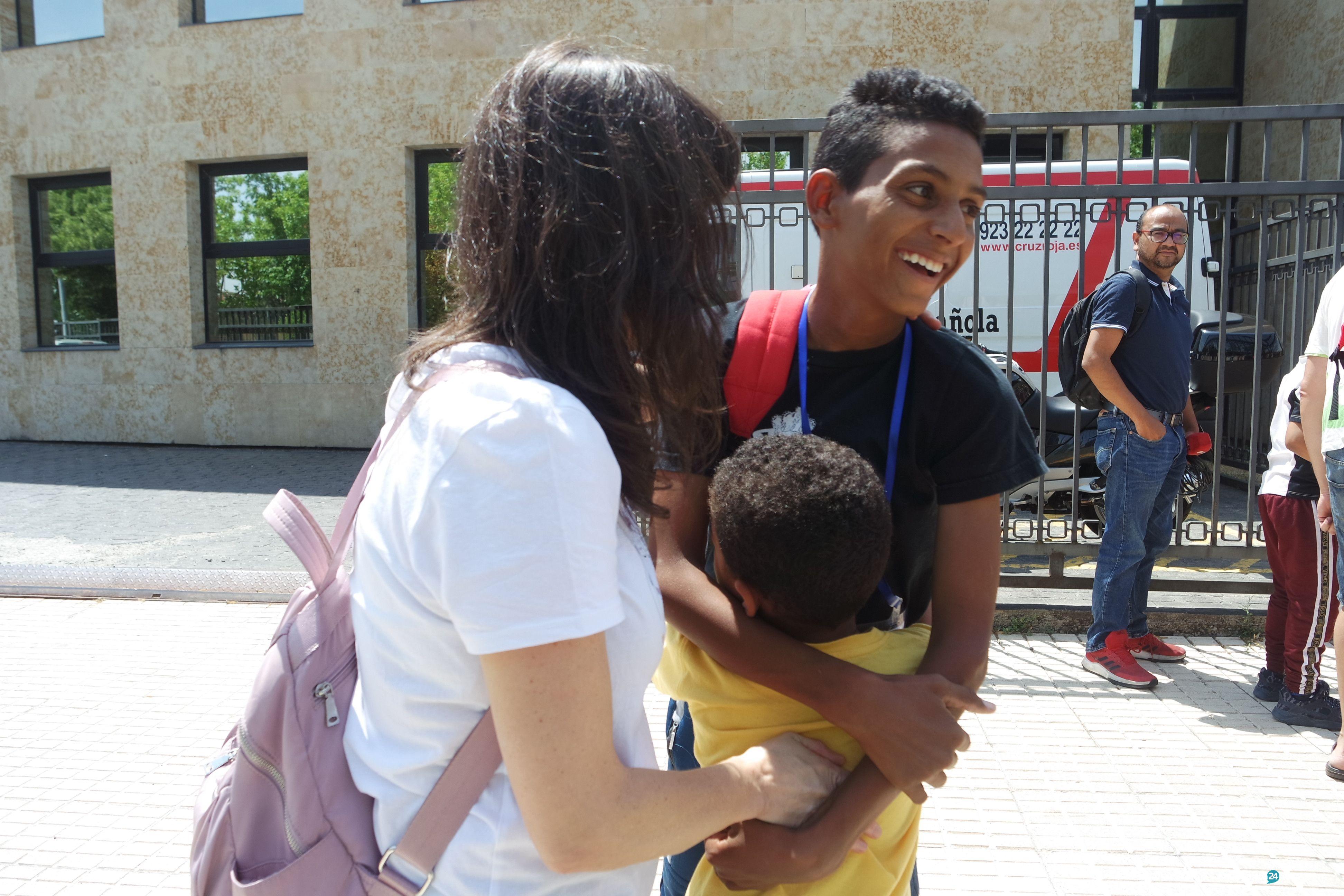 Llegada niños saharauis 'Vacaciones en Paz' 2019 (82)