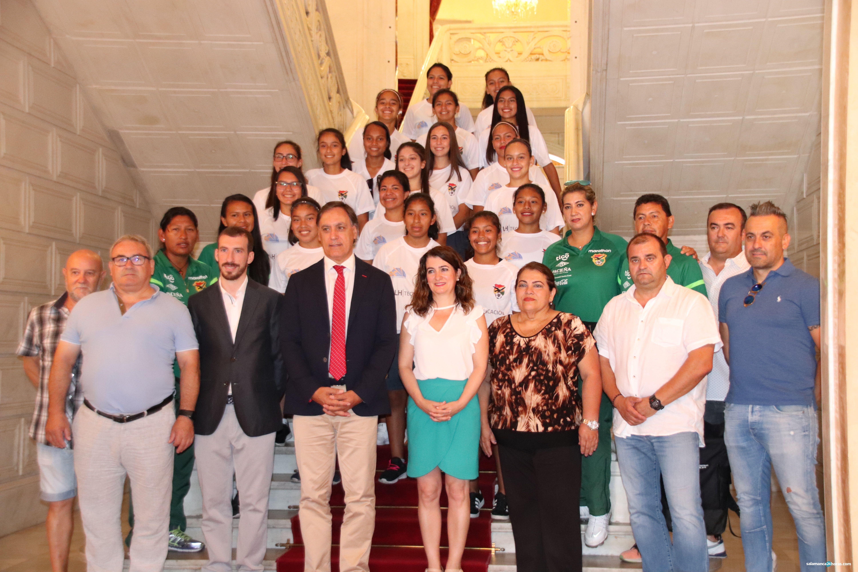 Recepción Selección boliviana de fútbol (17)