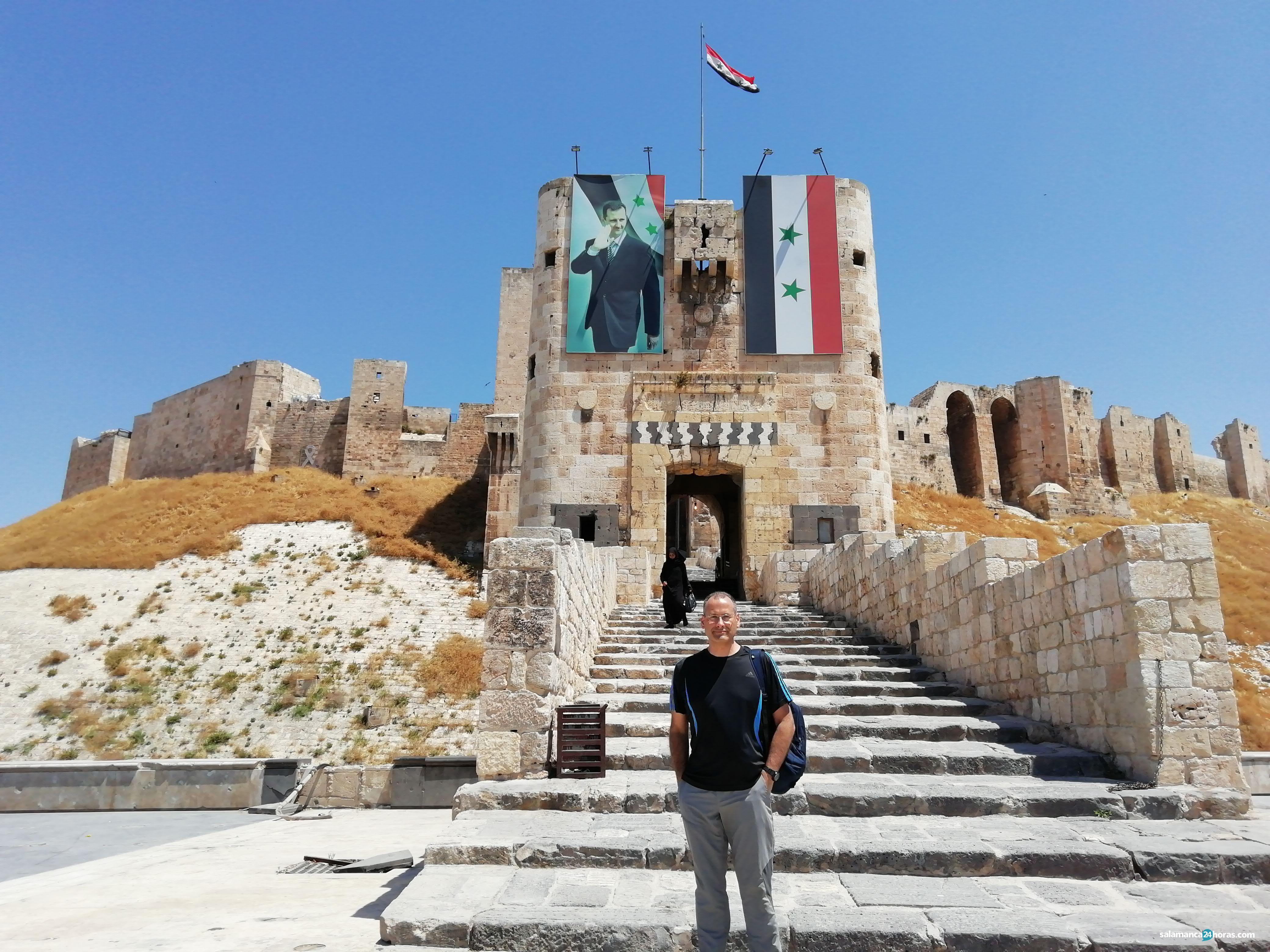 Acceso a la Ciudadela en Alepo