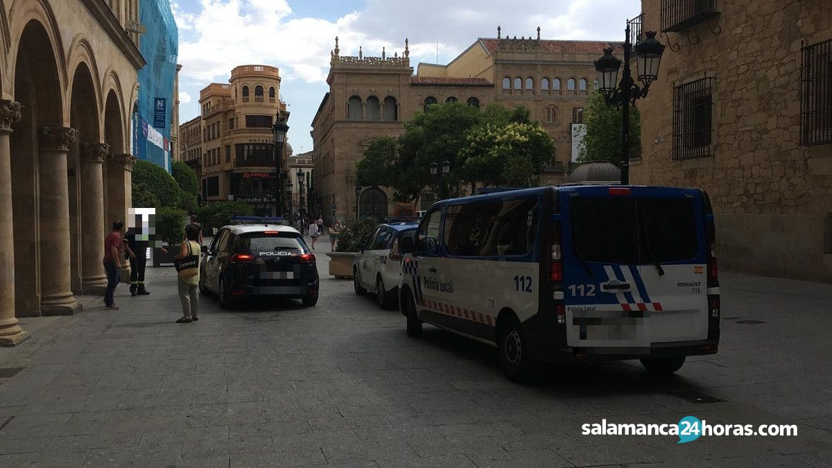 Niña italiana desaparecida calle Zamora