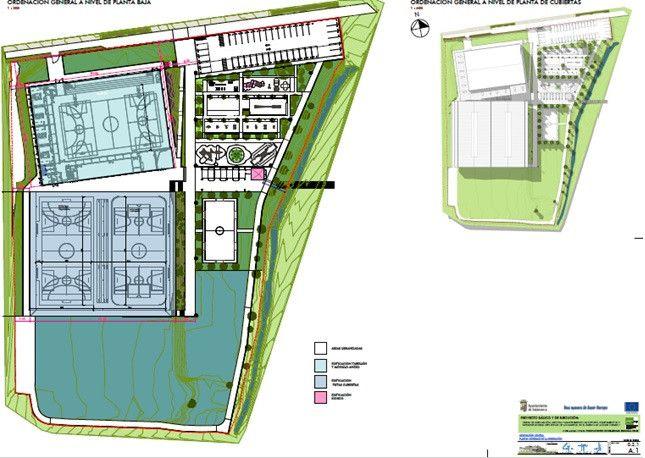 Plano ciudad deportiva tejares 1