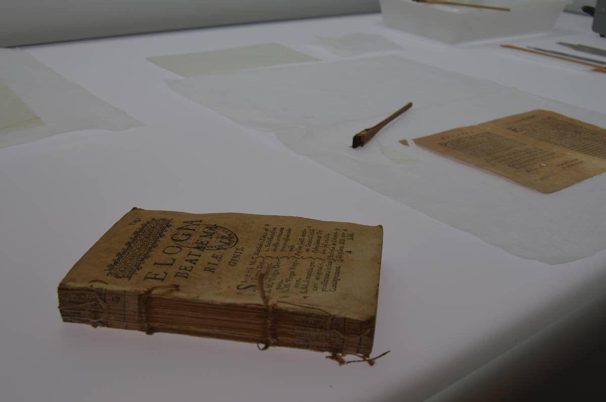 Restaurar libros UPSA 3