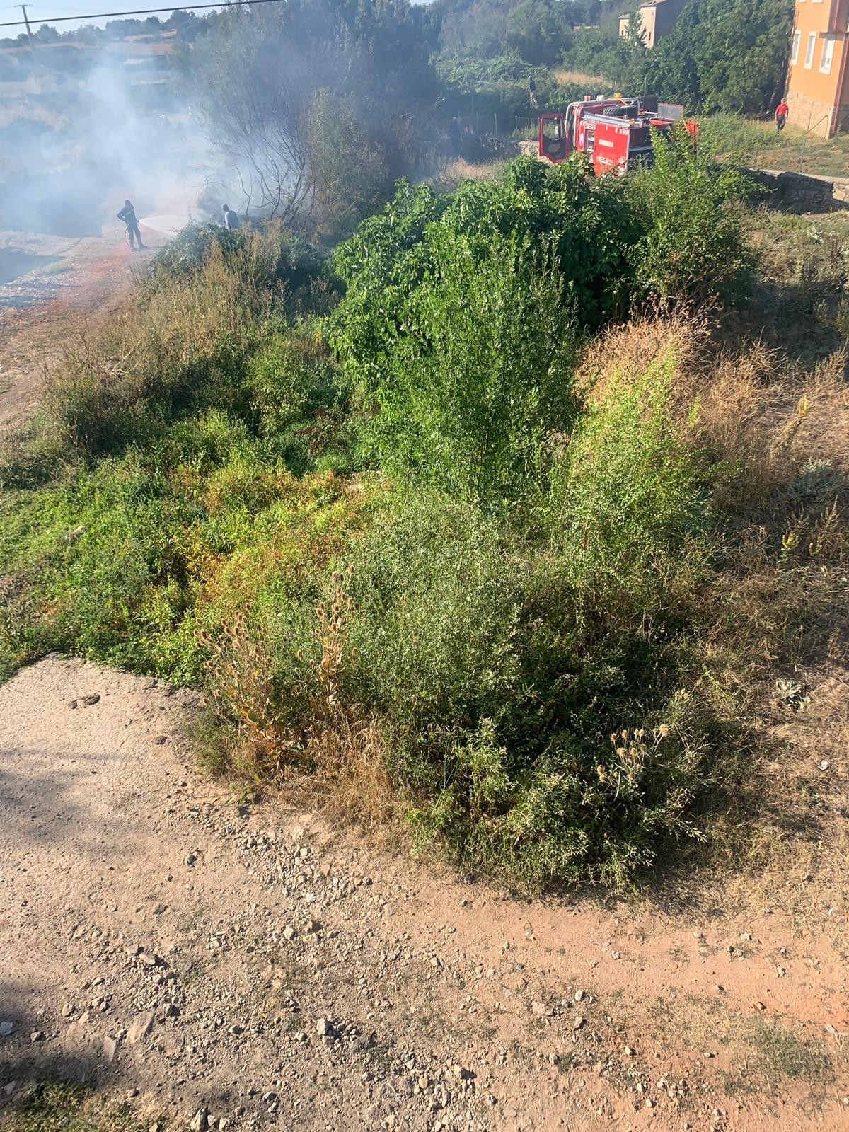 Incendio Lumbrales 2