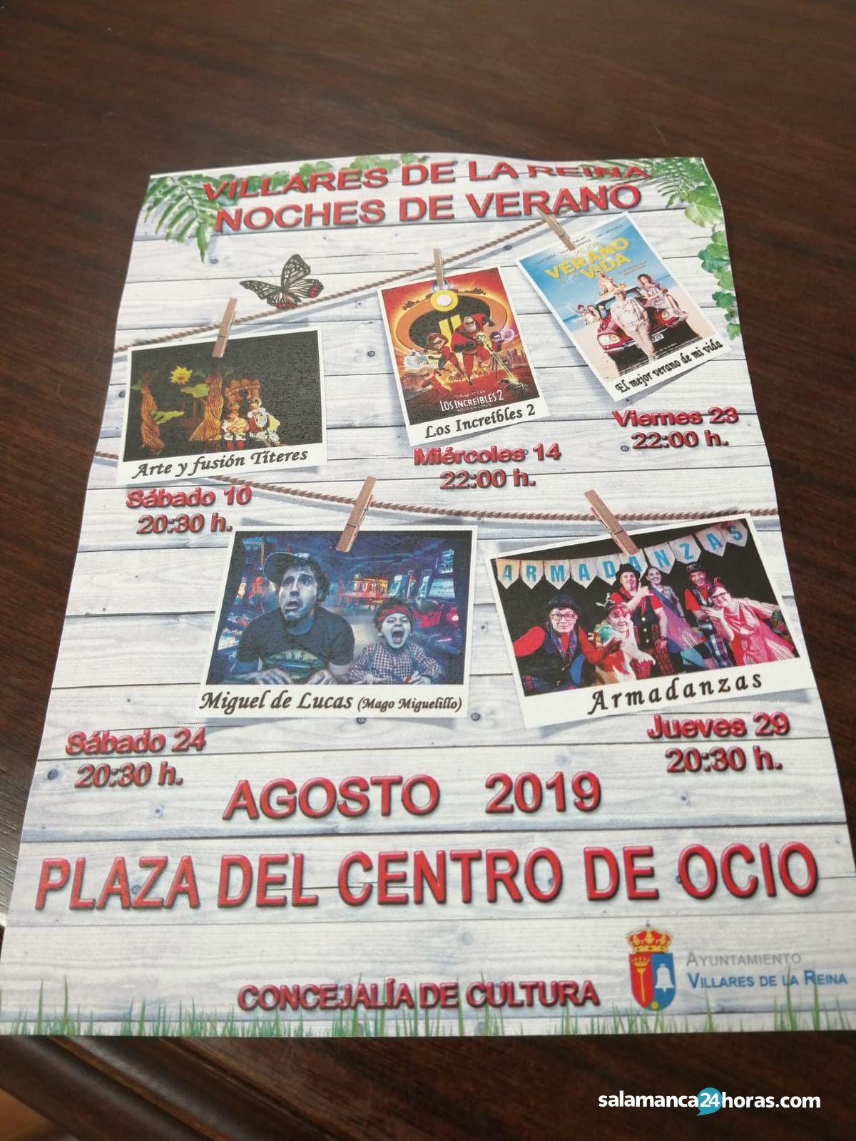 Cultura Villares agosto 2