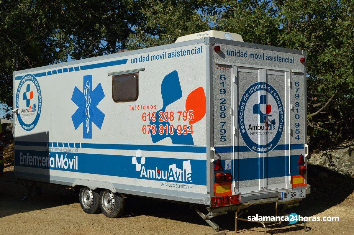 Ambulancias de Ávila en Linares de Riofrío 2019 (2)