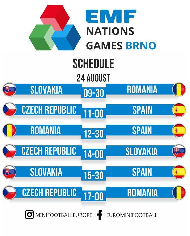 Brno horarios