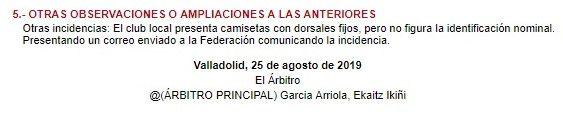 Acta Valladolid B Izarra