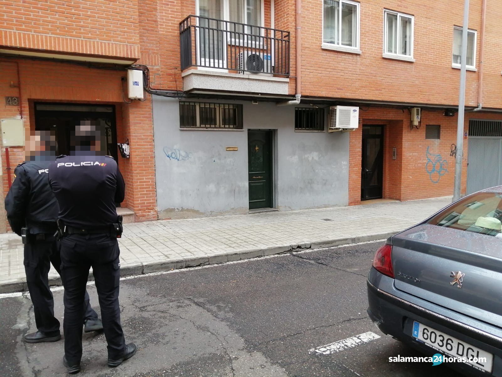 Suceso en la calle Almansa 2