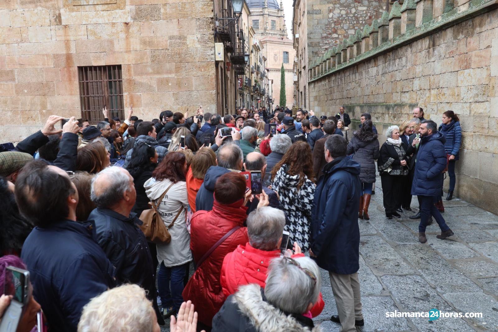 Pedro Sánchez en Salamanca 40