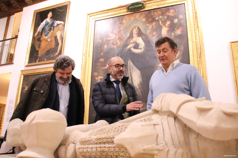 Javier Ortega visita el Museo  de Salamanca (79)