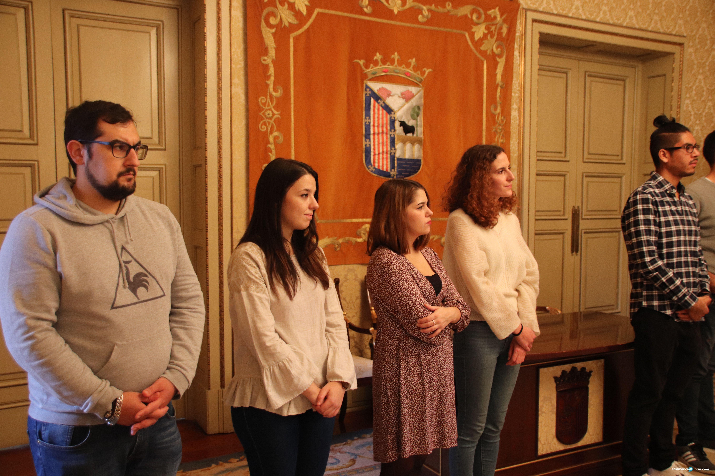 El alcalde recibe a los alumnos del Doctorado (59)