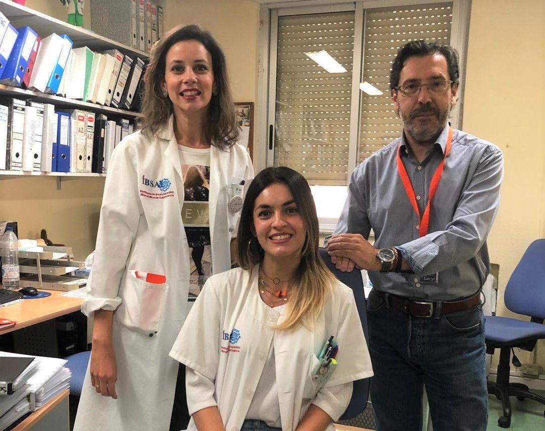 Cu00e9sar Rodru00edguez, Beatriz Rivas y Aline Rodrigues Oncologia (2)