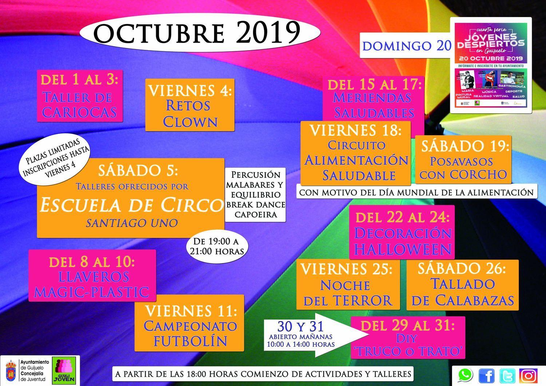 Octubre 2019 Guijuelo Joven
